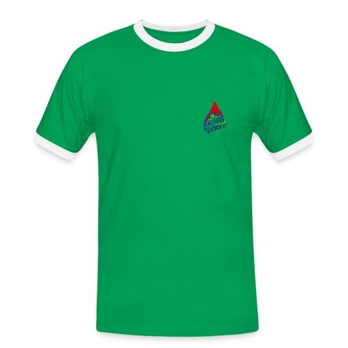 IG Klettern Motiv 2011 - Männer Kontrast-T-Shirt