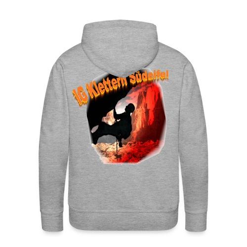 IG Klettern Bergmotiv - Männer Premium Hoodie