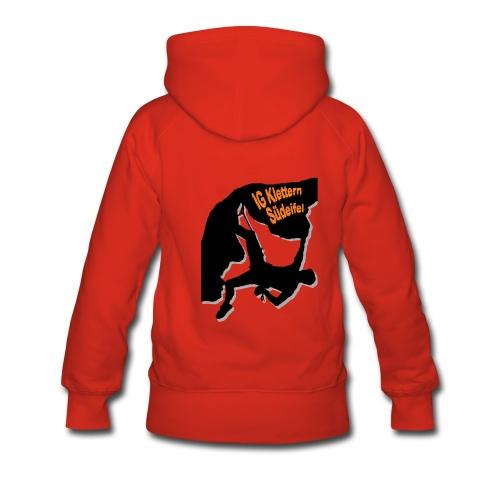 IG Klettern Motiv 2011 - Frauen Premium Hoodie