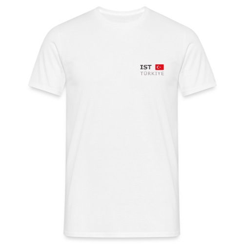 Classic T-Shirt IST TÜRKIYE dark-lettered - Men's T-Shirt
