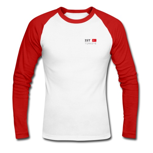 Longarm Baseball-Shirt IST TÜRKIYE dark-lettered - Men's Long Sleeve Baseball T-Shirt