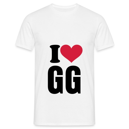T-Shirt I Love GG Team - T-shirt Homme