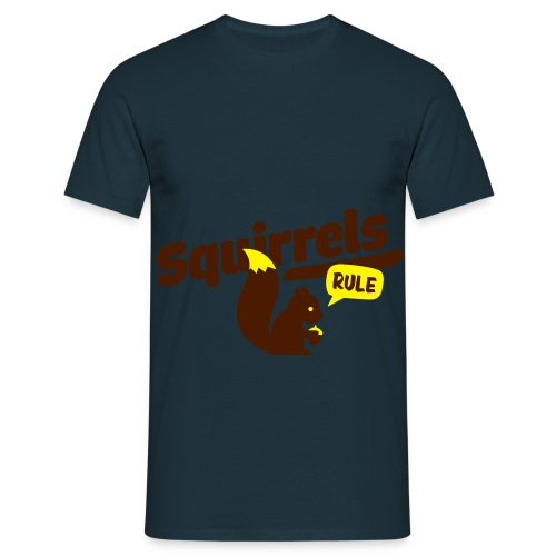 squirrels - Men's T-Shirt