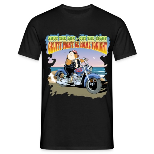 Gruffy won't be home tonight - Männer T-Shirt