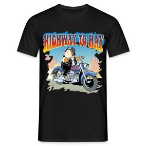 Highway to Hay - Männer T-Shirt