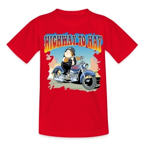 Highway to Hay - Teenager T-Shirt