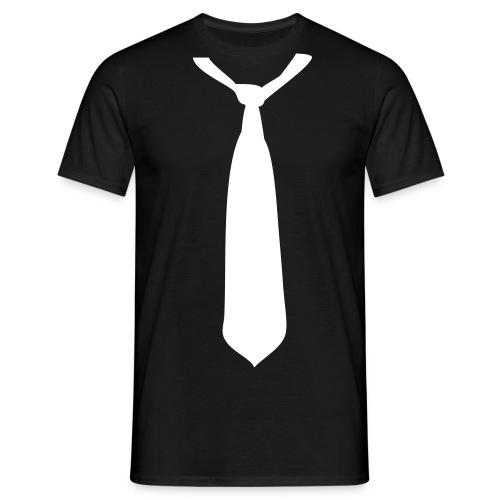Krawatte - Männer T-Shirt