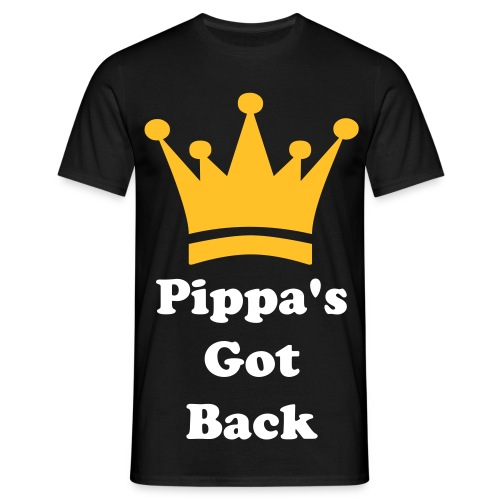 'Pippa's Got Back' Male T-shirt - Men's T-Shirt