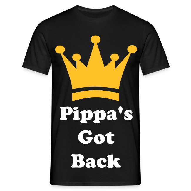 'Pippa's Got Back' Male T-shirt