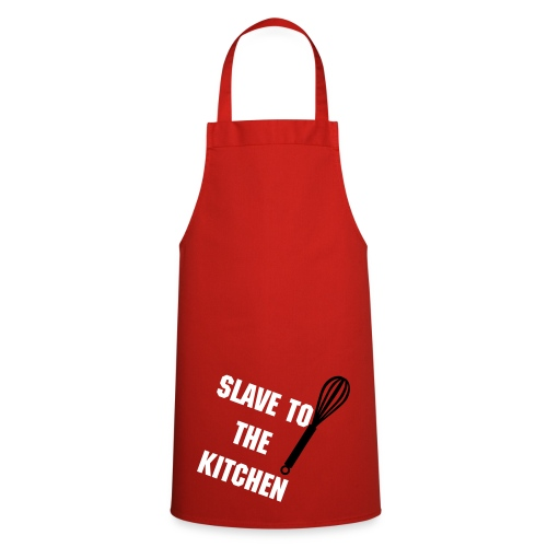 SLAVE TO THE KITCHEN - Cooking Apron