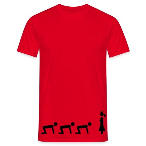 PRINCESS AN SLAVE - Men's T-Shirt