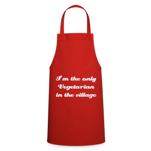 I'm the only vegetarian in the village - Cooking Apron