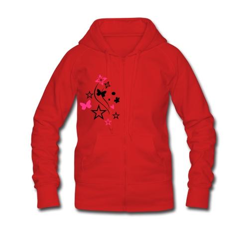 Rozpinana bluza damska z kapturem Premium