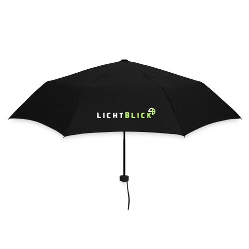 Regenschirm Schriftzug  - Regenschirm (klein)