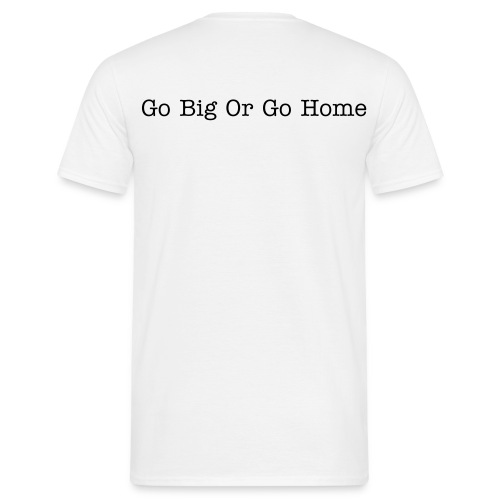 SPR tee GO BIG - Men's T-Shirt