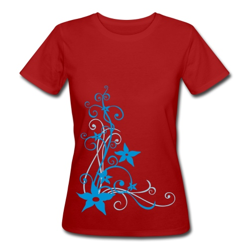 Shirt Ranke Lila - Frauen Bio-T-Shirt