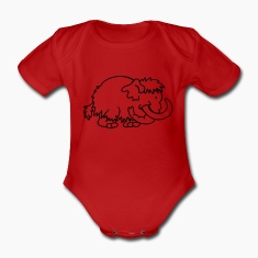 Little Mammoth Baby Bodysuits