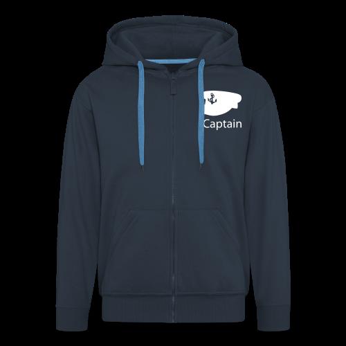 hoodie iCaptain - Männer Premium Kapuzenjacke