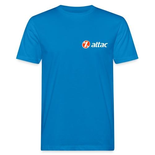 Attac Logo Shirt - Männer Bio-T-Shirt