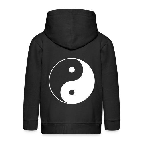 Boys Yin-Yang zipper - Premium Barne-hettejakke