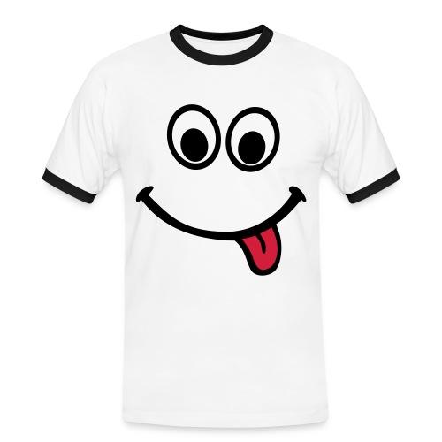 Cara feliz - Camiseta contraste hombre