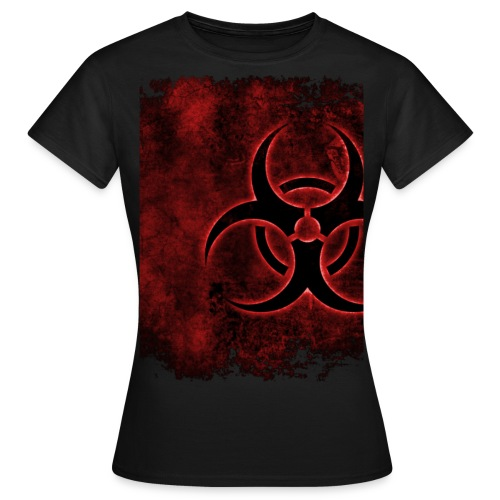 Biohazard Red - Frauen T-Shirt