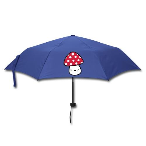Pilze lieben Regen. - Regenschirm (klein)