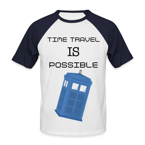 Time Travel - Ryan Origional  - Men's Baseball T-Shirt