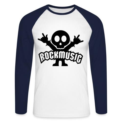 Rock T Shirt - Men's Long Sleeve Baseball T-Shirt
