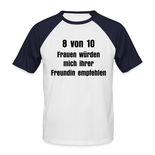 Selfmarketing - Männer Baseball-T-Shirt