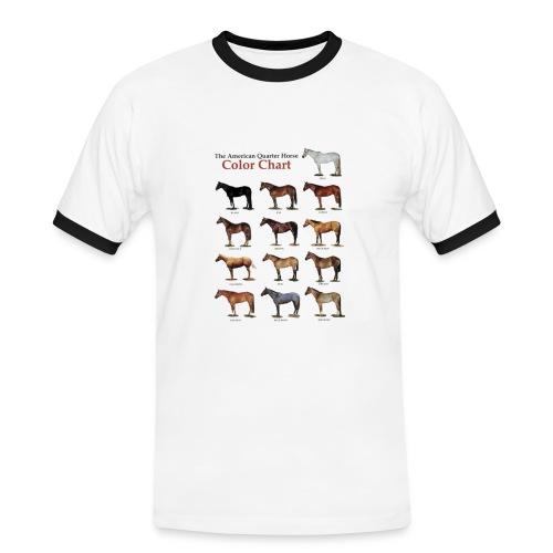 Quarter Horse Sport Shirt - Maglietta Contrast da uomo