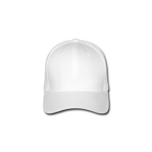 Cappy Weiss - Flexfit Baseballkappe