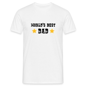 World's Best Dad - Mannen T-shirt