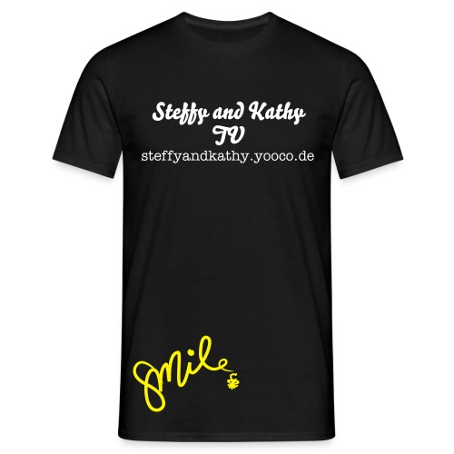 Steffy and Kathy TV - T-Shirt for men - Männer T-Shirt