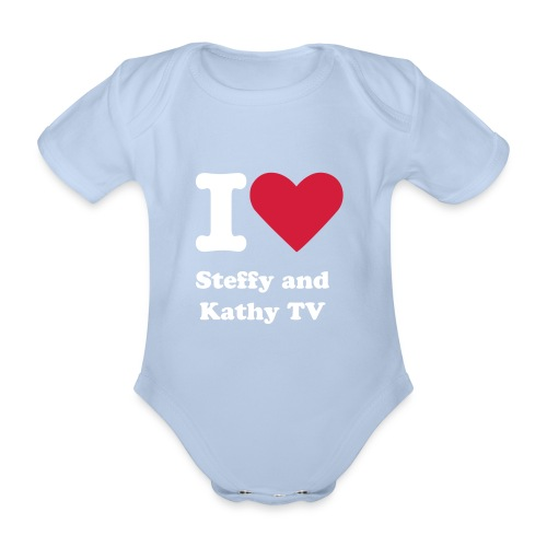 I love Steffy and Kathy TV - Body - Baby Bio-Kurzarm-Body