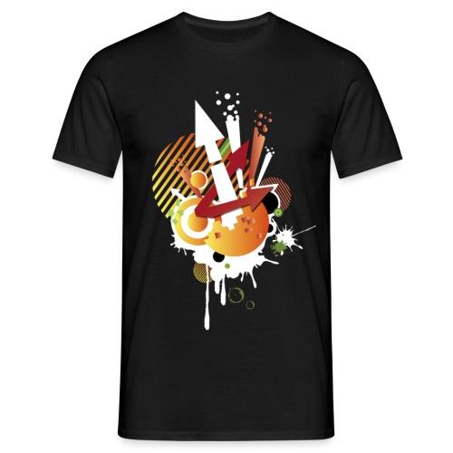 T-shirt Noir Freestyle - T-shirt Homme