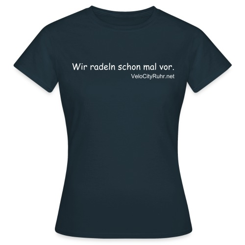 I'm in love with my bicycle. (women) - Frauen T-Shirt