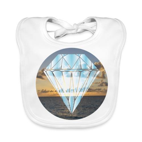 Bébé BIO : Diamant sur mer - Baby Organic Bib