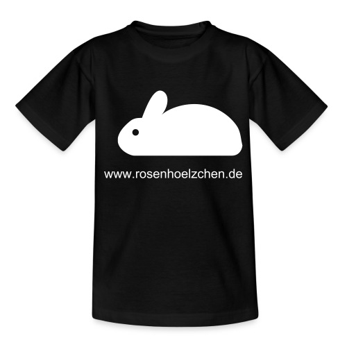 Kinder T-shirt Rosenhoelzchen.de - Teenager T-Shirt