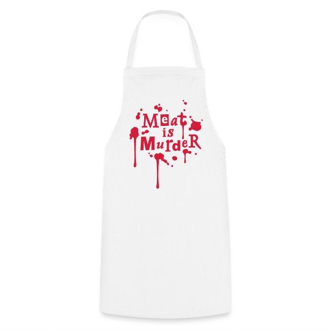Grill- & Kochschürze 'Meat is Murder'