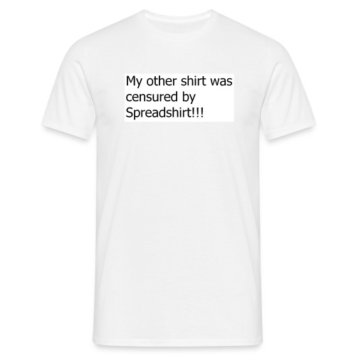 censures by sopreadshirt  - Men's T-Shirt