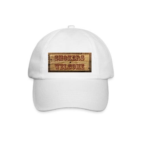 Smokers Welcome - Baseballkappe