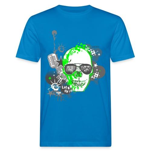 SKULL-GEEN - Männer Bio-T-Shirt