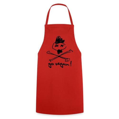 Grill- & Kochschürze 'go vegan!' - Kochschürze