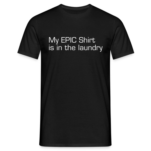 Epic Shirt in Laundry Male T-Shirt - Men's T-Shirt