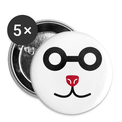 Spex_Animal_Button - Buttons groß 56 mm (5er Pack)