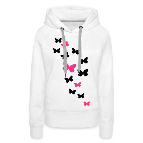 Butterfly Hoody - Women's Premium Hoodie
