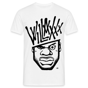 WILLAXXX white - T-shirt Homme