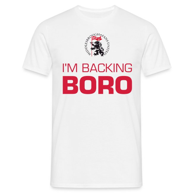 I'm backing BORO!