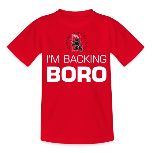 I'm backing BORO! - Teenage T-Shirt